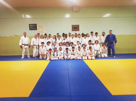 Entrainement de masse benjamins :minimes Garge-les- Gonesse : Domont et Arnouville Judo Fitness